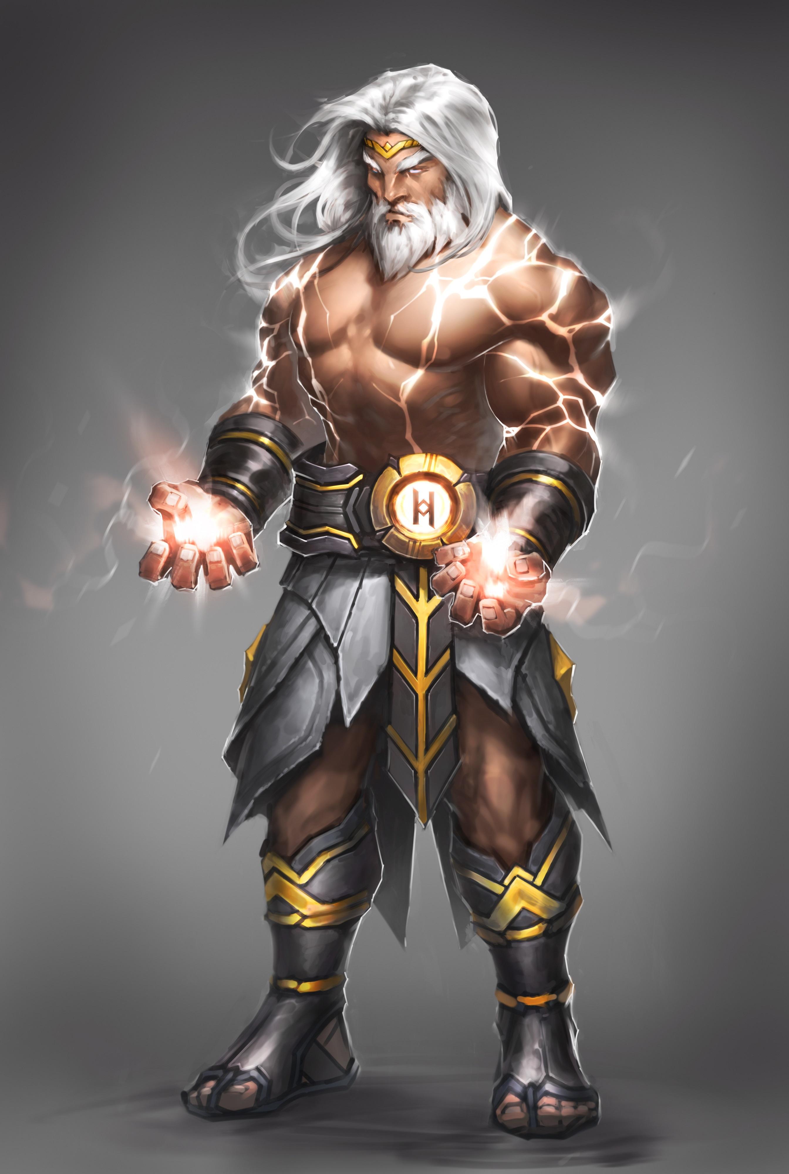 Art Showcase: Zeus – World of Myths Blog